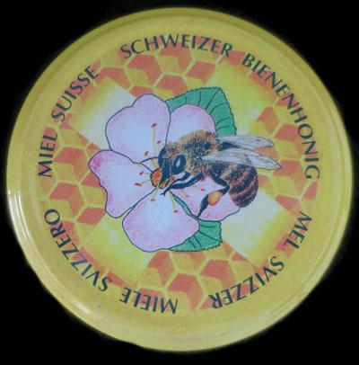 Schweizer Blütehonig Bienenhonig Honig Deckel